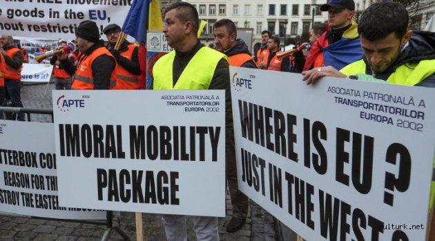 """Avrupa Komisyonu, Bulgaristan'ın itiraz ettiği """"Hareketlilik"""" Paketini durdurdu"""