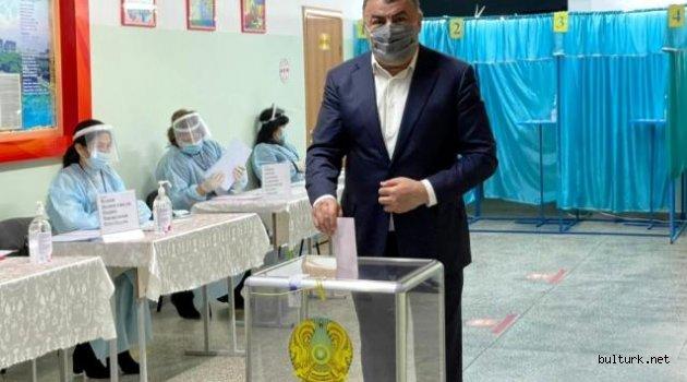 Başkan Kassanov, Kazakistan'da milletvekili seçildi