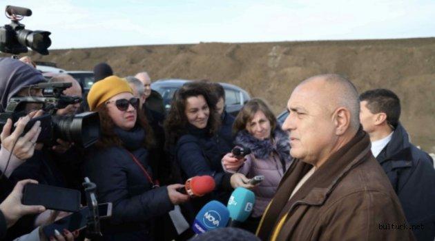 Borisov, Hemus otoyolunda süren inşaat çalışmalarını inceledi