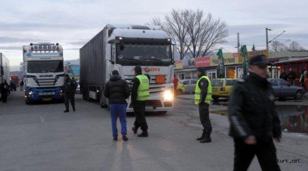 Bulgar taşımacıları geçici olarak AK koşullarından muaf bırakıldı