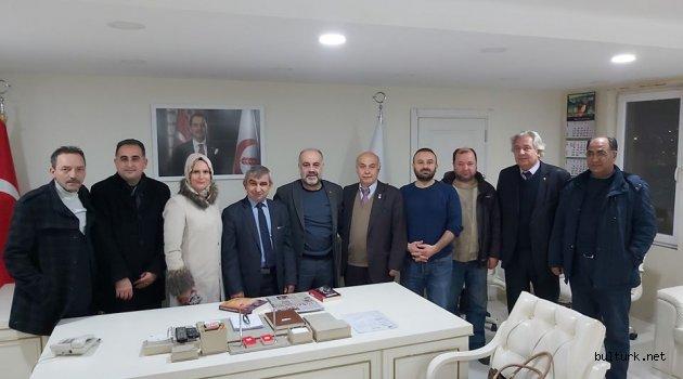 BULTÜRK Derneği, Yeniden Refah Partisi'ni ziyaret etti