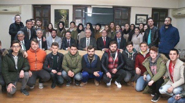 Bursa'da Rumeli dernek başkanları toplandı