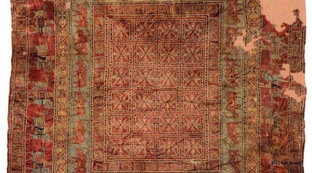 Dünyanın en eski halısının Türklere ait olduğu onaylandı
