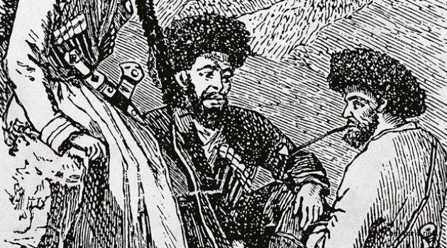 Kafkasya'nın eski tarihinde Türkler .