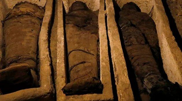 Mısır'da beş bin yıllık mumyalar bulundu