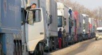 AK: Romanya ile Bulgaristan arasında TIR'lar iki saat bekliyor