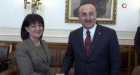 Çavuşoğlu, Sofya'da Karayançeva ile görüştü