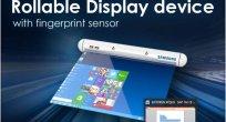 Samsung, katlanabilir yeni ekran tasarımlarını paylaştı