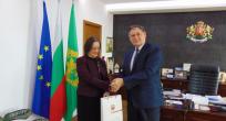 TC Burgas Başkonsolosu, Şumen Belediye Başkanını ziyaret etti