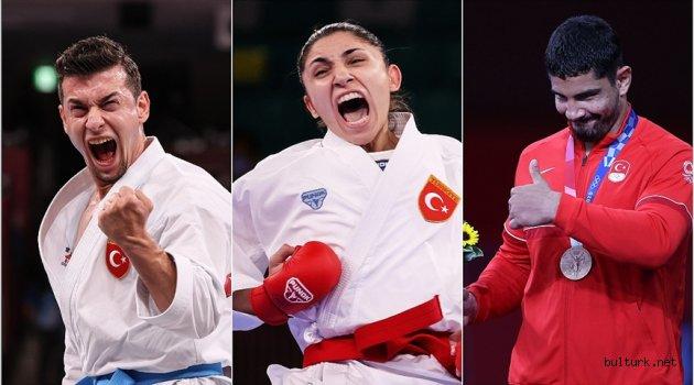 Türk sporcular Tokyo 2020'nin 14. gününü 3 madalyayla tamamladı